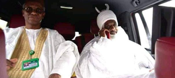 Nasir El-Rufai and Muhammadu Sanusi II
