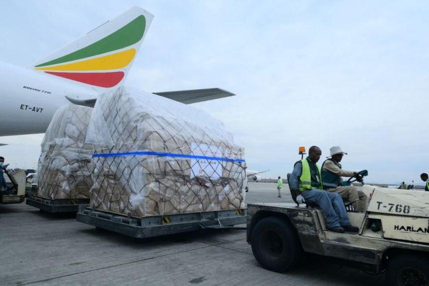 Image result for jack ma kit arrives nigeria