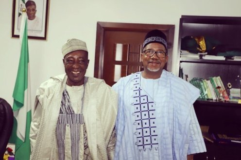 Bala Mohammed with Agric minister