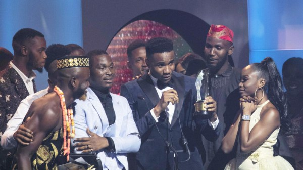 Jidekene Achufusi aka Swanky JKA scored his first Africa Magic Viewers Choice Award as the 2020 AMVCA Trailblazer