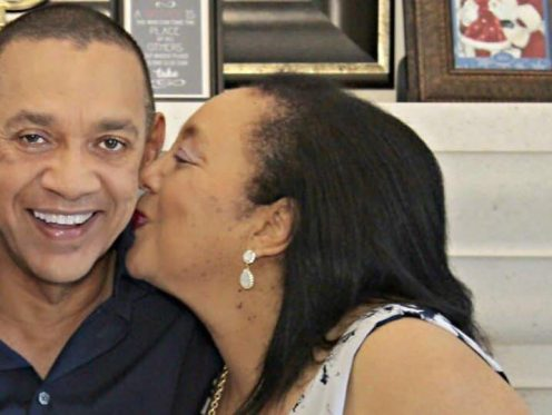 Mr Ben Murray-Bruce with his late wife, Evelyn