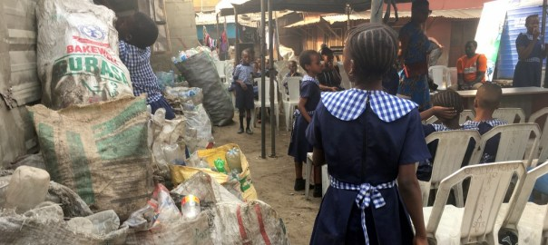 The Recycle Pay initiative allows parents use recyclables to pay their kids' school fees