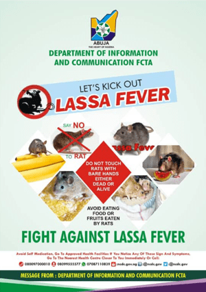 Lassa Fever advert
