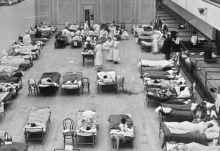 Image from the Spanish flu, also known as the 1918 flu pandemic. [Photo: The Conversation]