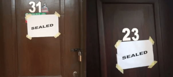 Lagos Assembly seals offices of suspended lawmakers