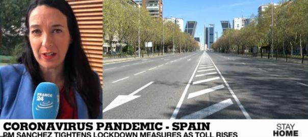Coronavirus Pandemic - Spain