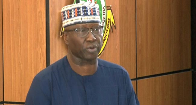 Secretary to the Government, Boss Mustapha. [PHOTO CREDIT: Channels TV]