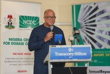 Chikwe Ihekweazu, Director-General of the Nigeria Centre for Disease Control (NCDC) [PHOTO: NCDC]