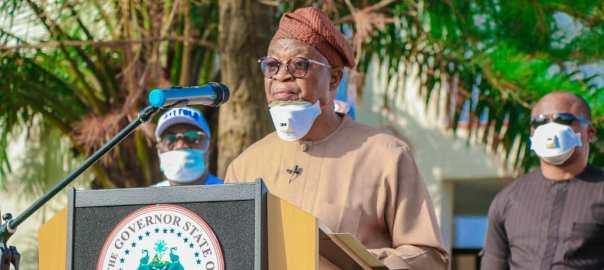 Gboyega Oyetola, Governor of Osun State.[PHOTO CREDIT: @GboyegaOyetola]