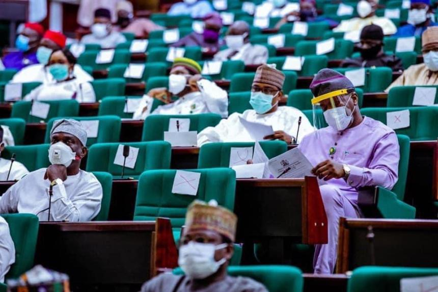 Members of the House of Representatives at a Special plenary on Tuesday 28/4/2020 (Photo: Speaker's Office)