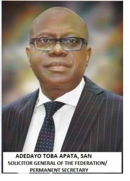 Solicitor General - Dayo Apata [Source - Federal Ministry of Justice Website]