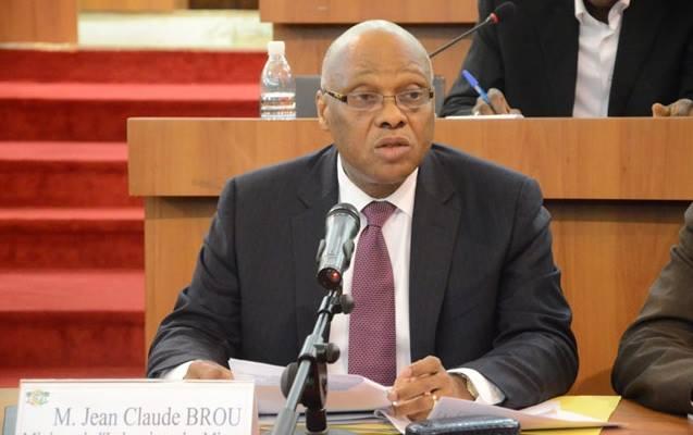 Jean-Claude Brou, ECOWAS Commission Chairman.