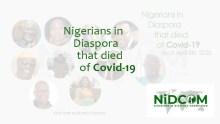 List of deceased Nigerians in the Diaspora