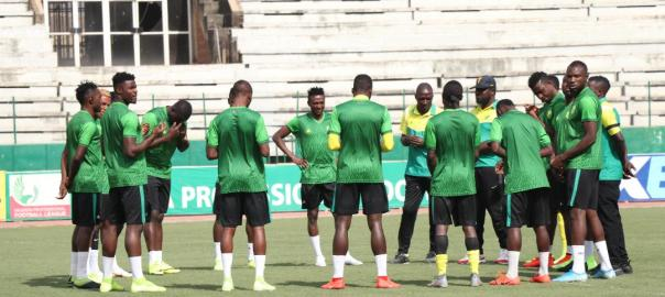 FOOTBALLERS: Plateau United
