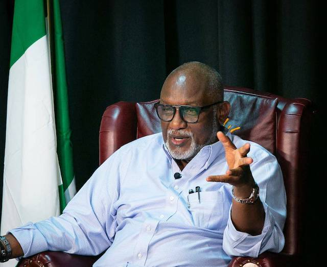 Governor Oluwarotimi Akeredolu of Ondo State [PHOTO: TVC]