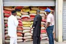 Some bags of the controversial rice in Oyo
