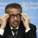 WHO Director-General Tedros Adhanom Ghebreyesus. Salvatore di Nolfi/EPA