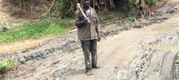 55-year-old Abubakar Sabo from Sabo Hausawa