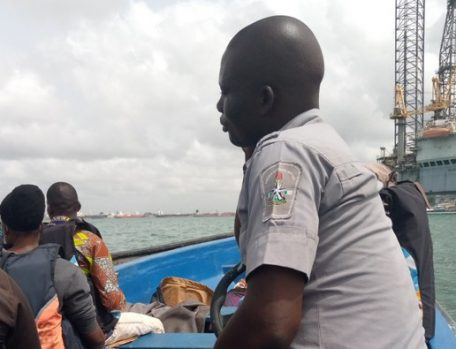 A Custom officer eho seized our boat before collecting bribe