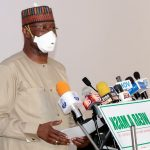 Boss Mustapha, Chairman of the Presidential Task Force on COVID-19