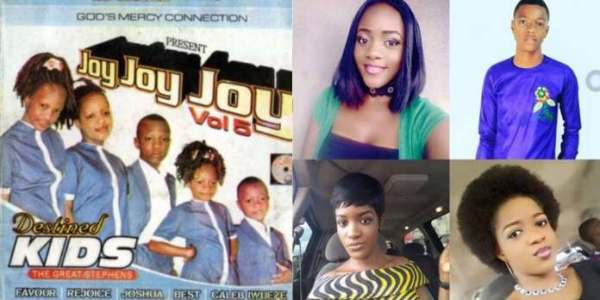 Destined Kids before and after photo by information nigeria