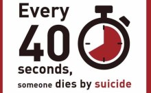 Every 40 seconds, someone, somewhere in the world, dies by suicide. On World #MentalHealth Day, @WHO is calling for 40 seconds of action to prevent suicide.