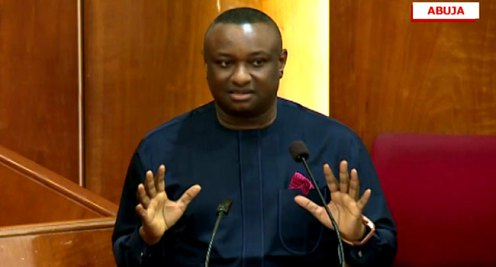 Festus Keyamo, Minister of State Labour and Employment [Photo: ChannelsTV]