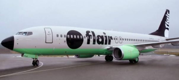 FlairJet, a British private charter company. [PHOTO CREDIT: The Herald]