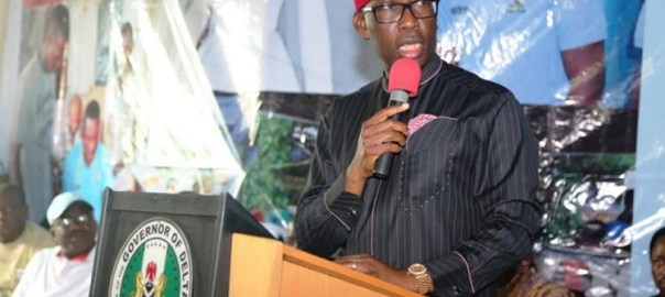 Delta State Governor, Ifeanyi Okowa [Photo: Vanguard]