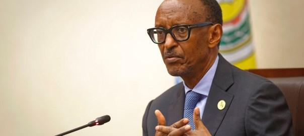 FILE: Rwanda's President Paul Kagame [PHOTO: AP Photo/Ben Curtis]