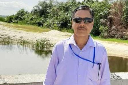 Mr. Satyndra Sharma, who died of Coronavirus while working on Dangote Refinery site.