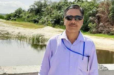 Mr. Satyndra Sharma, who died of Coronavirus while working on Dangote Refinery site.