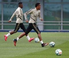 Real-Madrid Trainning