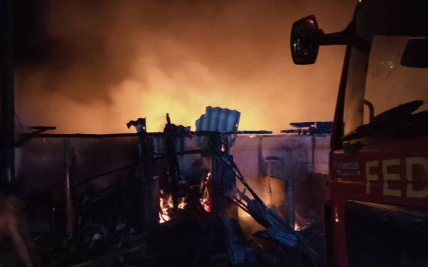 Shomolu Market Fire