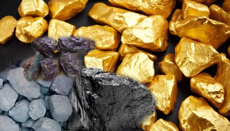 Solid Minerals used to illustrate the story. [PHOTO CREDIT: Punch Newspaper]