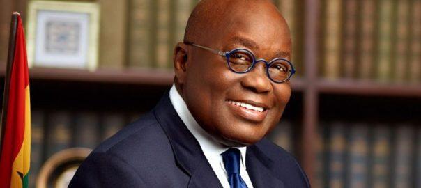 Ghanaian president [photocredit: CGTN.com]