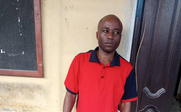 A pastor, Nnamso Friday Jacob arrested for rape in Akwa Ibom