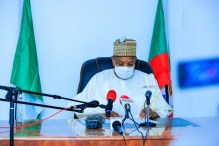 The Kebbi State Governor and chairperson of the APC Governors Forum, Abubakar Bagudu. [PHOTO CREDIT: Official web page of Kebbi State government]