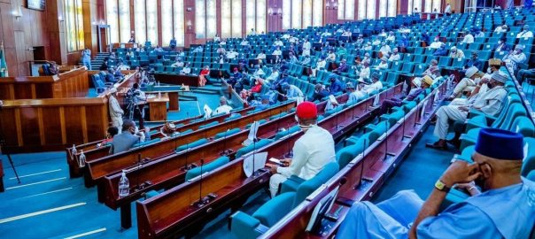 House of representatives during plenary. [PHOTO CREDIT: Official Twitter handle of House of Reps.]