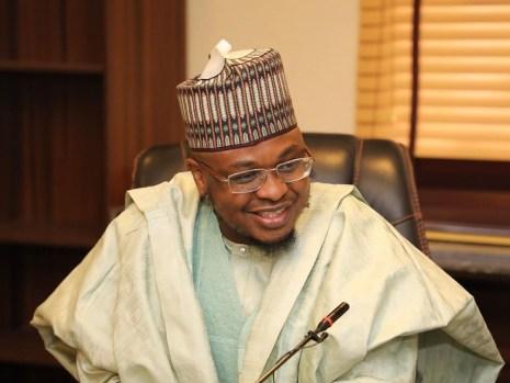 Minister of Communication, Dr Isa Ali Pantami [PHOTO CREDIT: isaalipantami]