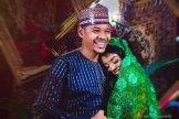 MC Tagwaye and his bride Hauwa Uwais