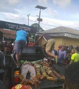 Truck kills four injure six attending burial in Anambra