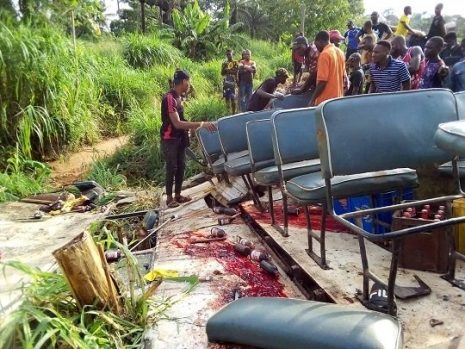 Truck kills four injure six attending burial in Anambra