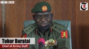 Lieutenant-General, Tukur Buratai - CAS