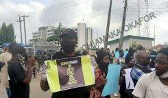 protest against gender-based violence