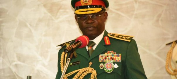 Chief of Defence Staff, Abayomi Olonisakin [PHOTO CREDIT: defencehq.mil.ng/gallery]