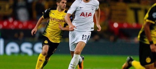 Eric Dier [PHOTO CREDIT: @ericdier]