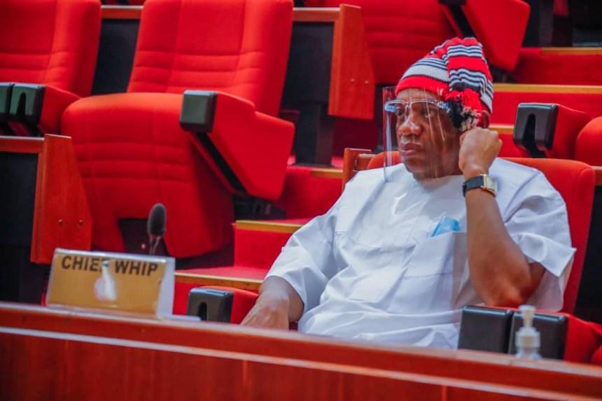Chief whip of the Senate, Orji Kalu [PHOTO CREDIT: @OUKtweets]