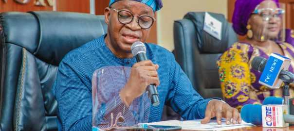 Osun State Governor, Adegboyega Oyetola. [PHOTO CREDIT: Official Twitter handle of Mr Oyetola @GboyegaOyetola]