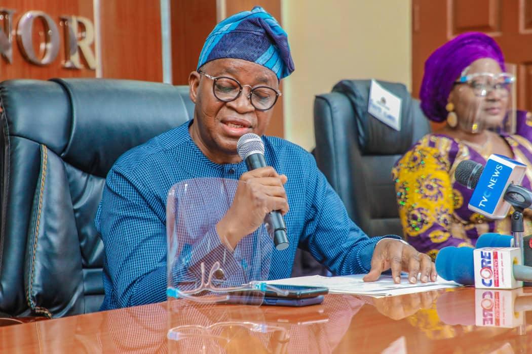 Osun State Governor, Adegboyega Oyetola. [PHOTO CREDIT: Official Twitter handle of Mr Oyetola @GboyegaOyetola]